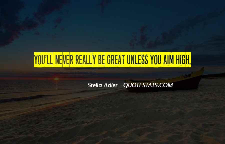 Stella Adler Quotes #352829