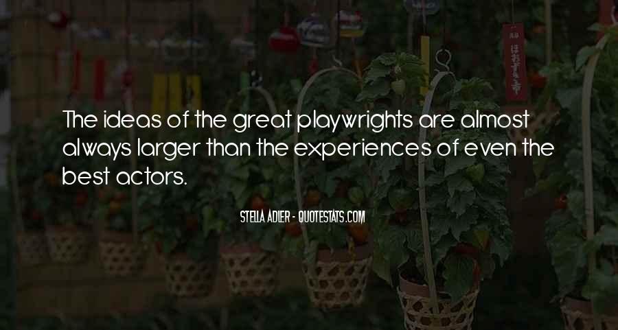 Stella Adler Quotes #736940