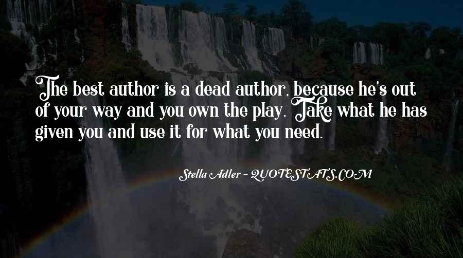 Stella Adler Quotes #851600
