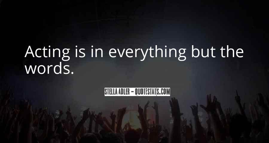 Stella Adler Quotes #868470