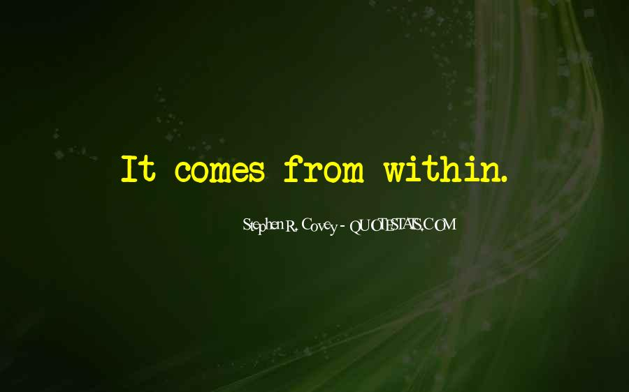 Stephen R Covey Quotes #105300