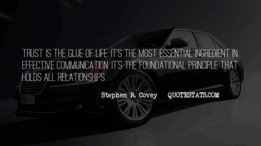 Stephen R Covey Quotes #7661