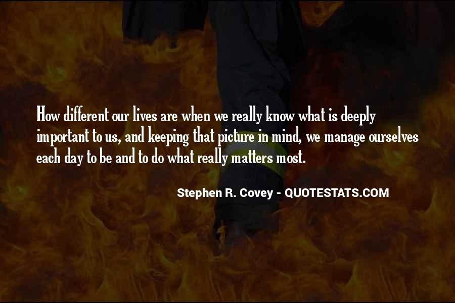 Stephen R Covey Quotes #803835