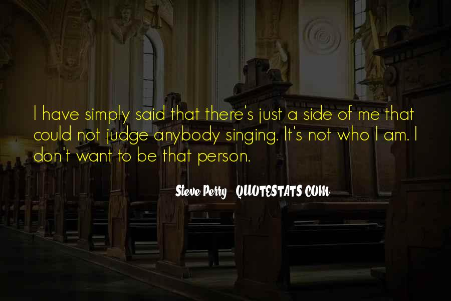 Steve Perry Quotes #1031435