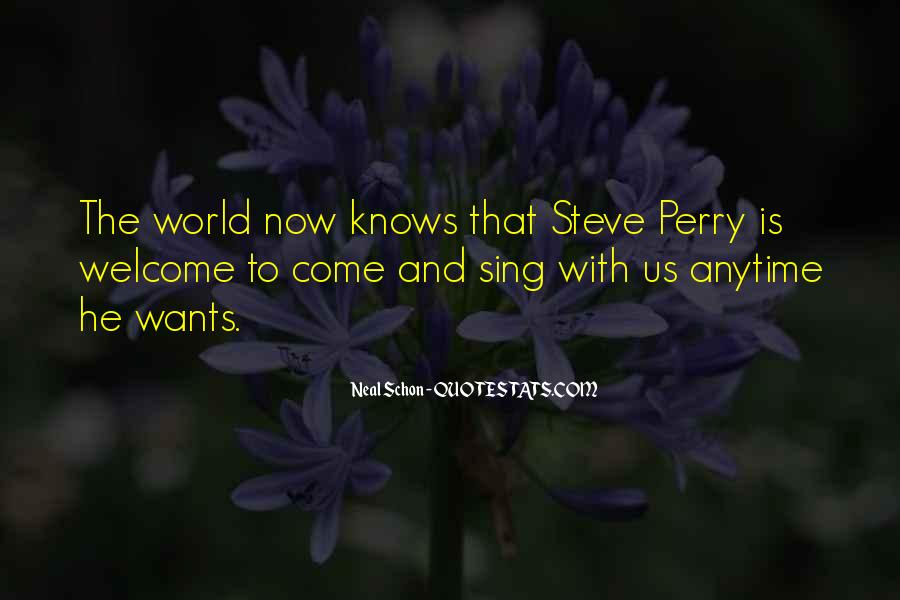 Steve Perry Quotes #1757007