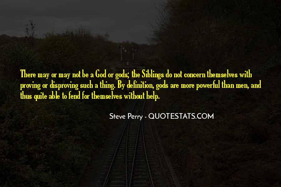 Steve Perry Quotes #404703