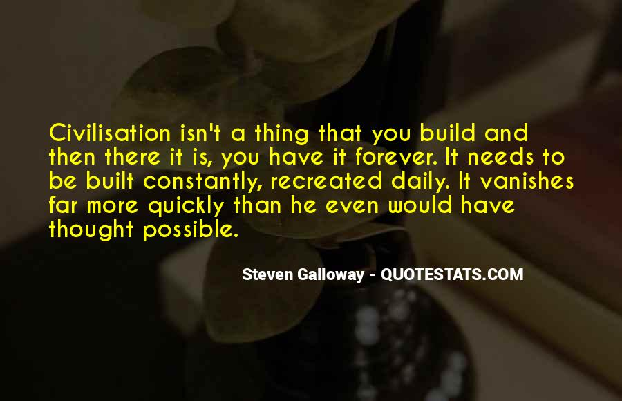 Steven Galloway Quotes #277319