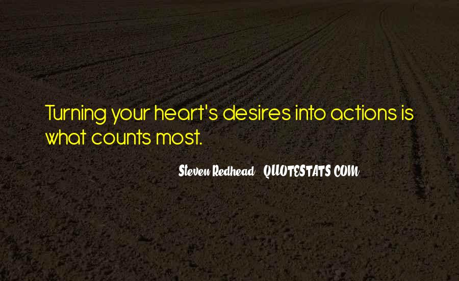Steven Redhead Quotes #11177