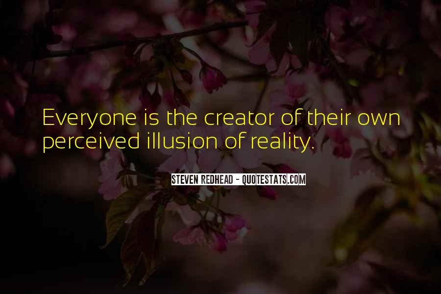 Steven Redhead Quotes #118185