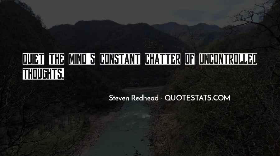 Steven Redhead Quotes #129810