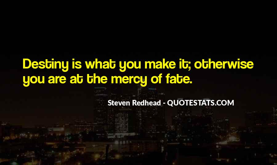 Steven Redhead Quotes #156379