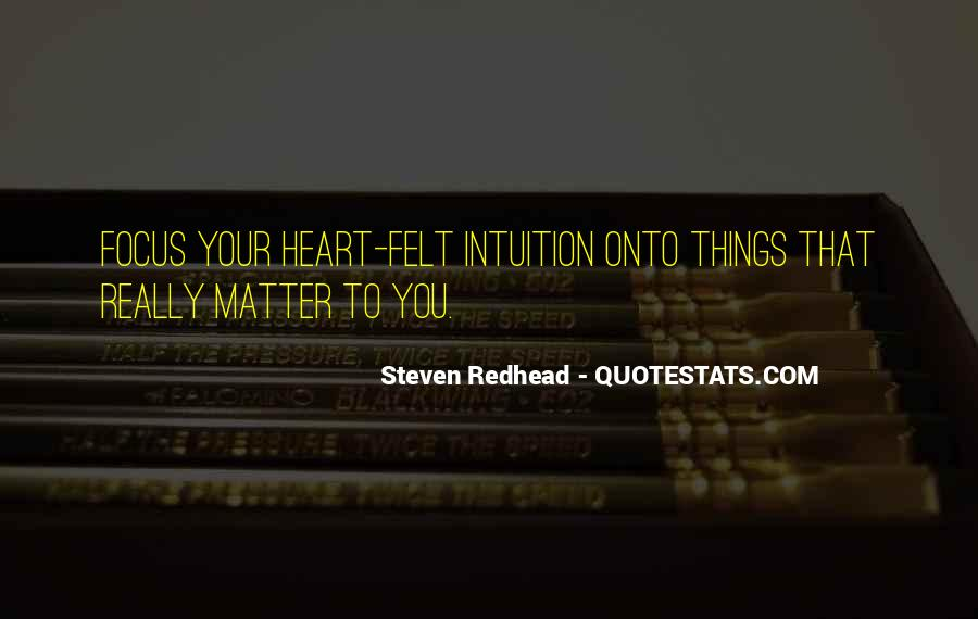 Steven Redhead Quotes #245865