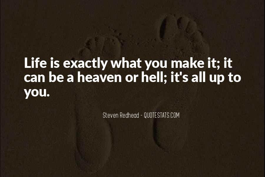 Steven Redhead Quotes #256006