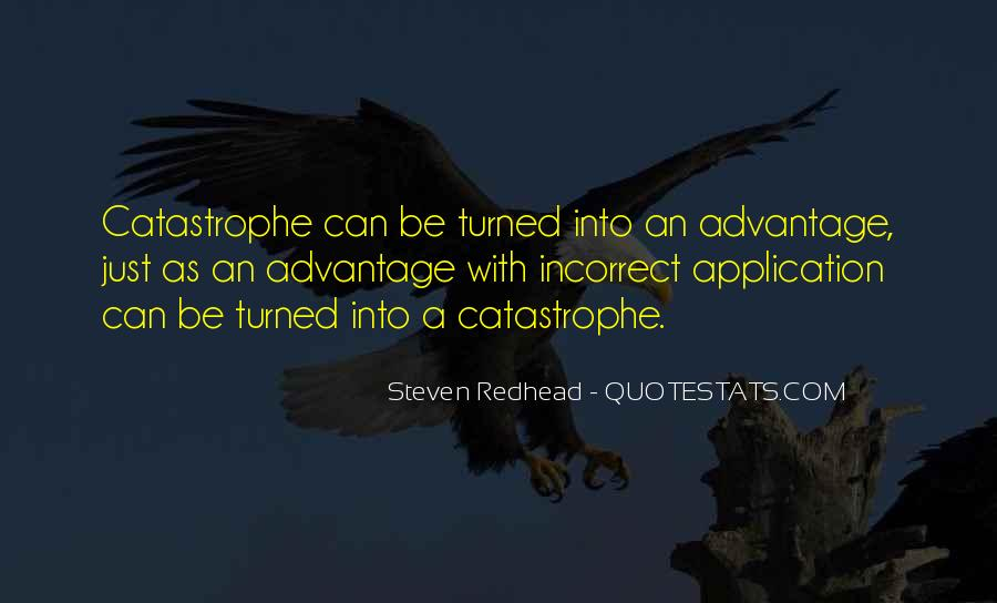 Steven Redhead Quotes #298083