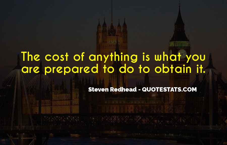 Steven Redhead Quotes #31461