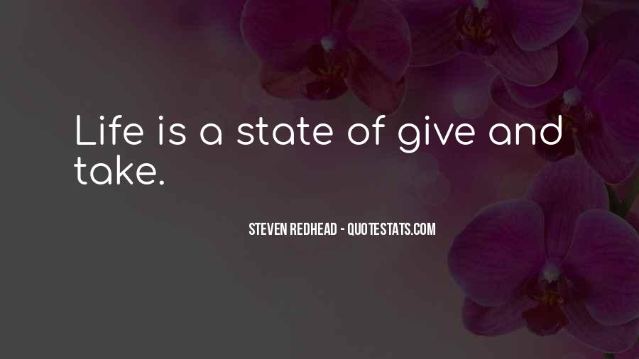 Steven Redhead Quotes #391528