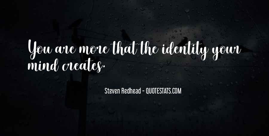 Steven Redhead Quotes #398650