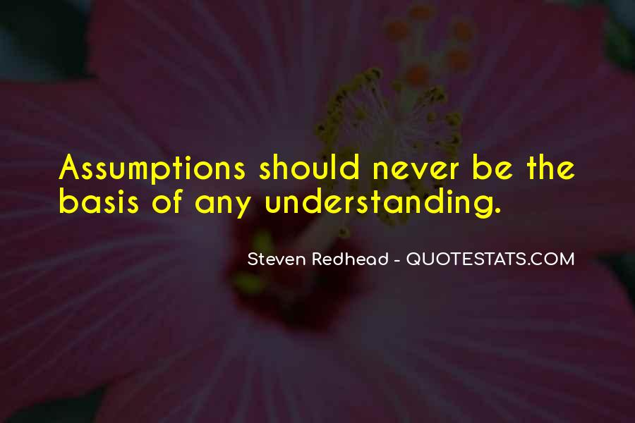 Steven Redhead Quotes #427637