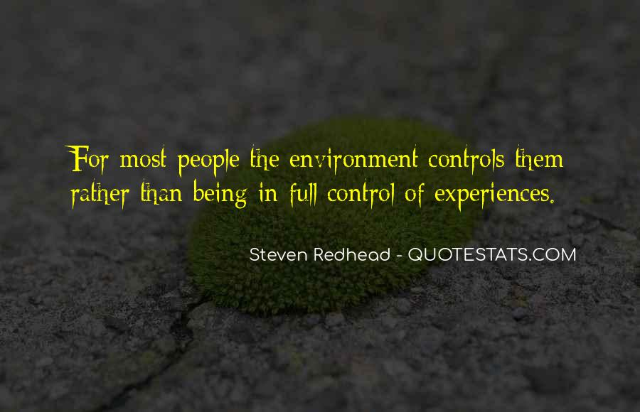 Steven Redhead Quotes #74821