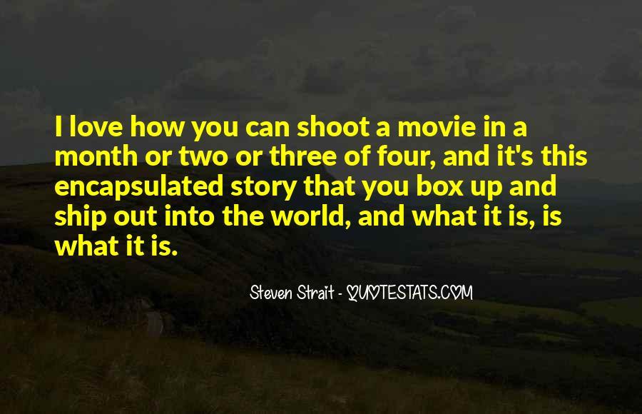Steven Strait Quotes #1362903