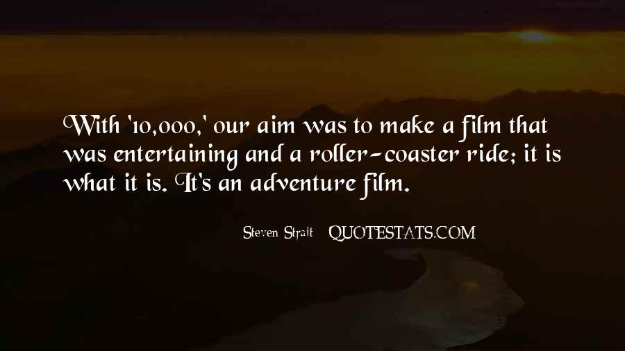 Steven Strait Quotes #1533396
