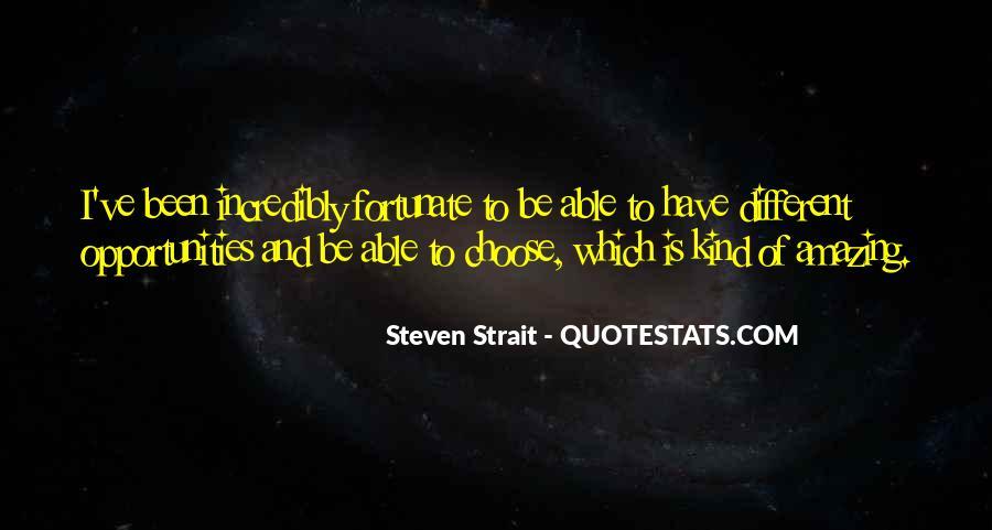 Steven Strait Quotes #49721