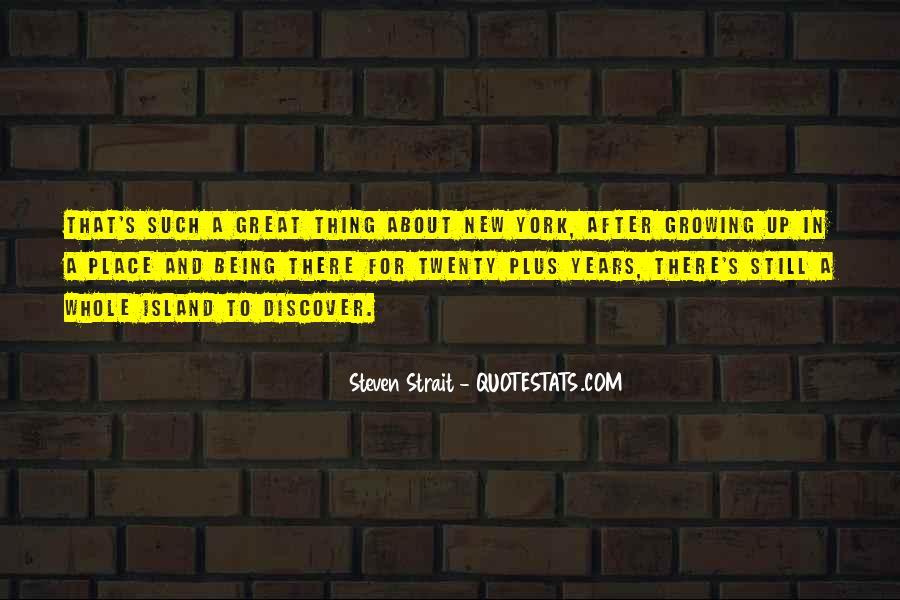 Steven Strait Quotes #558173