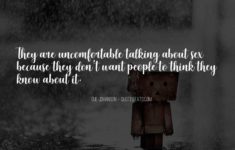 Sue Johanson Quotes #1105026