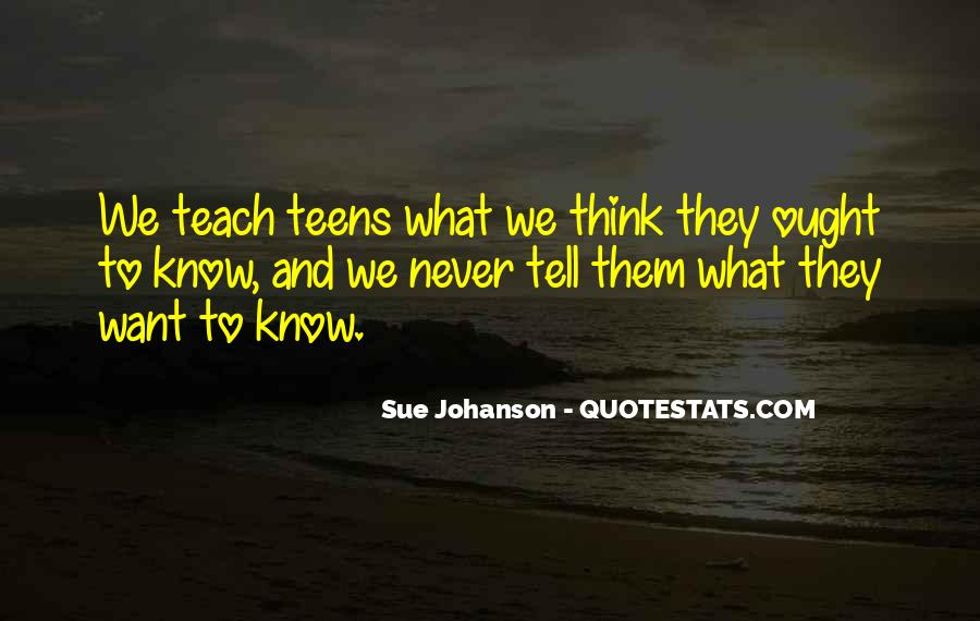 Sue Johanson Quotes #1664341
