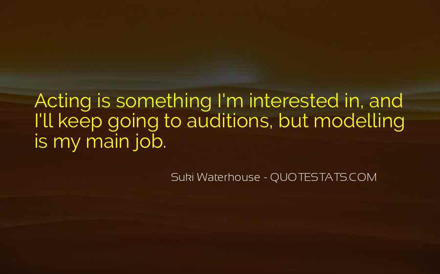 Suki Waterhouse Quotes #1032614