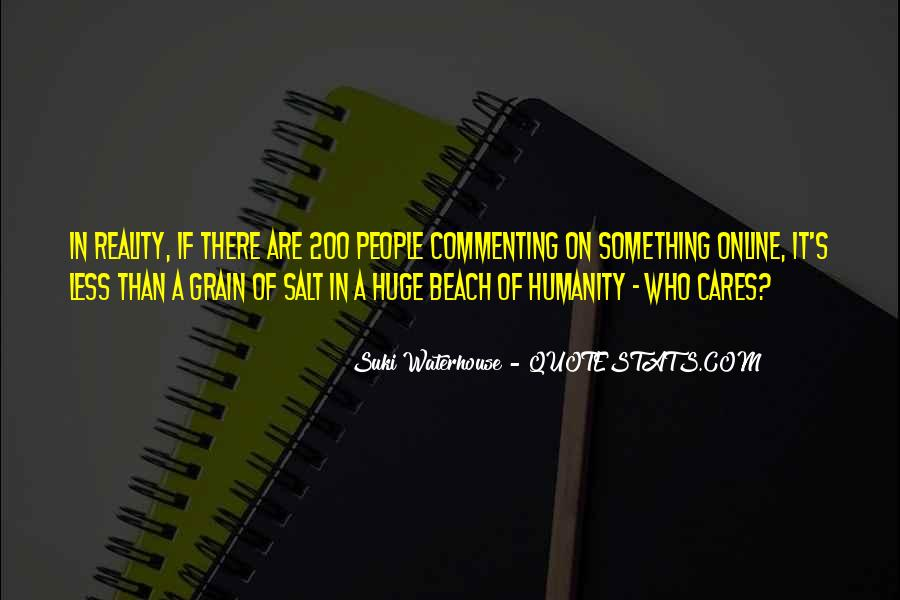 Suki Waterhouse Quotes #1071124