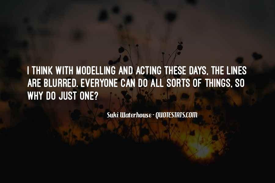 Suki Waterhouse Quotes #1081467