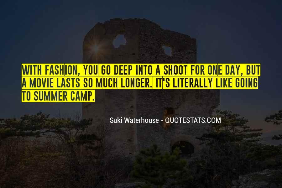 Suki Waterhouse Quotes #1158456