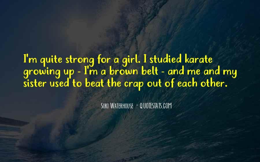 Suki Waterhouse Quotes #1172720