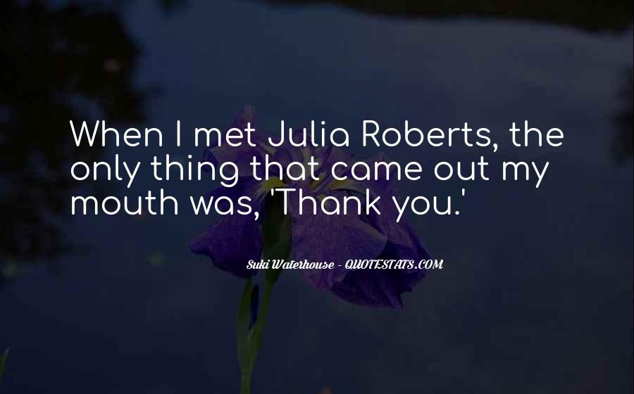 Suki Waterhouse Quotes #1258039