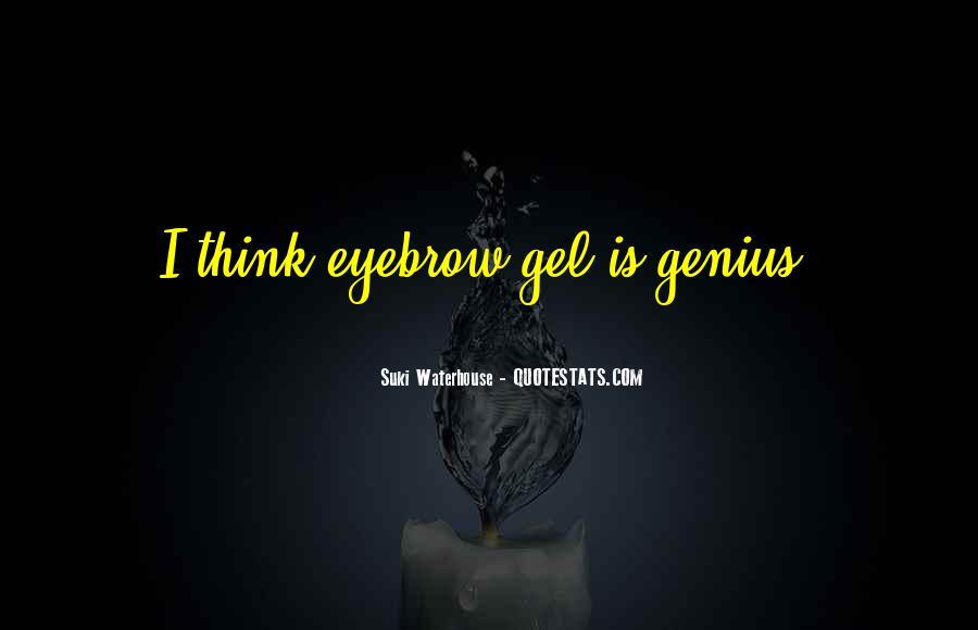 Suki Waterhouse Quotes #1259904