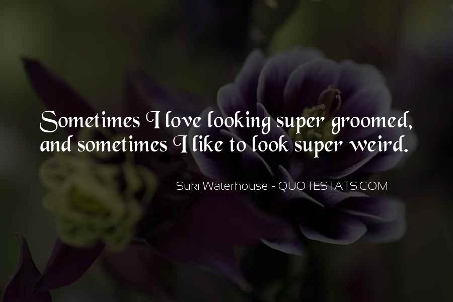 Suki Waterhouse Quotes #1358135