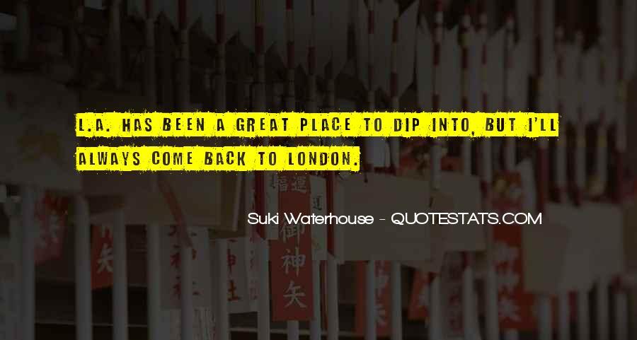 Suki Waterhouse Quotes #1451054