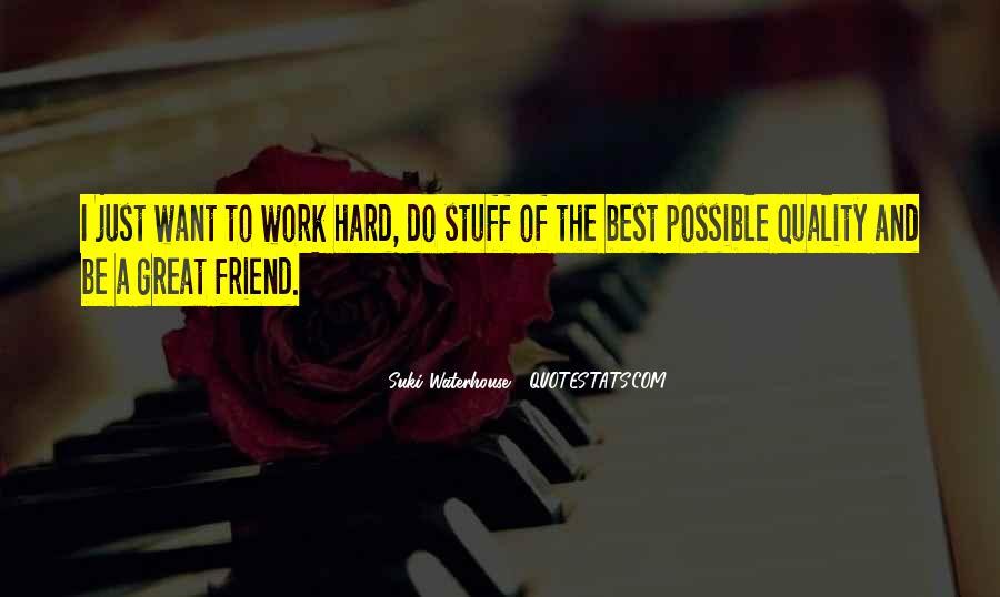 Suki Waterhouse Quotes #1522768