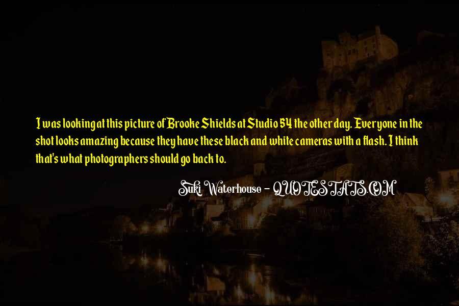 Suki Waterhouse Quotes #1532646