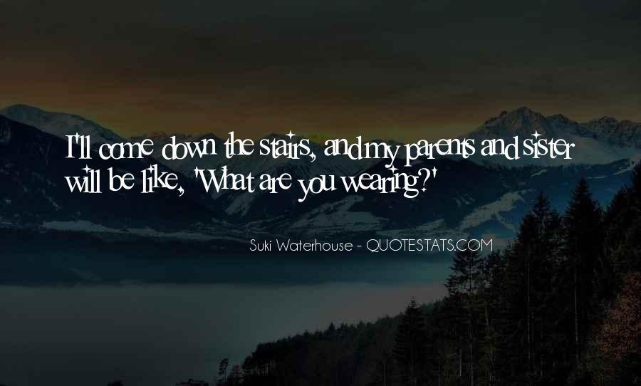 Suki Waterhouse Quotes #1727999