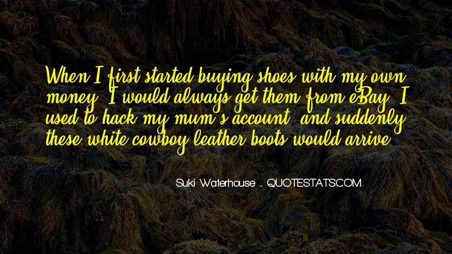 Suki Waterhouse Quotes #176848
