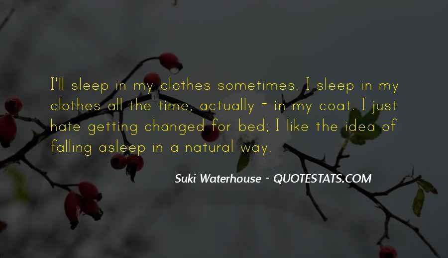 Suki Waterhouse Quotes #1771100