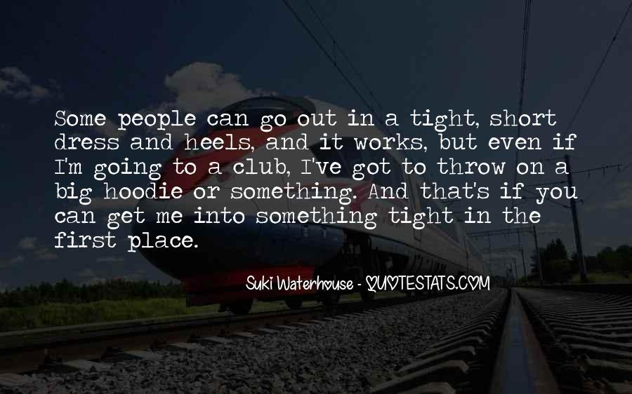 Suki Waterhouse Quotes #24697