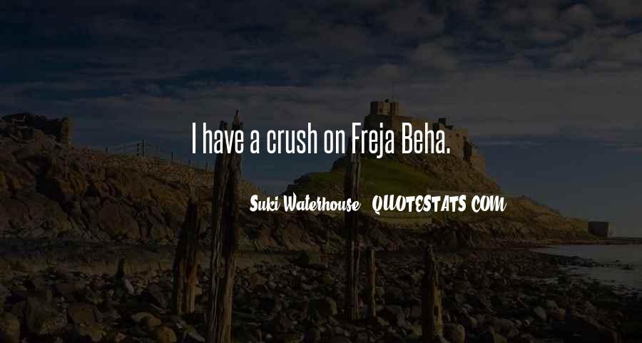 Suki Waterhouse Quotes #288467