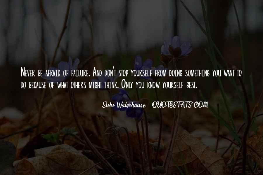 Suki Waterhouse Quotes #461871