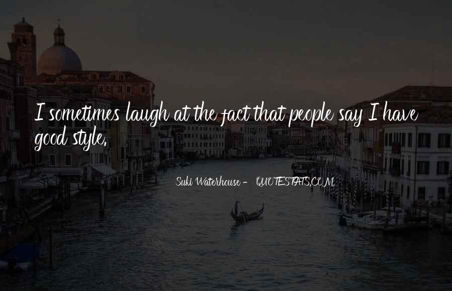 Suki Waterhouse Quotes #501159