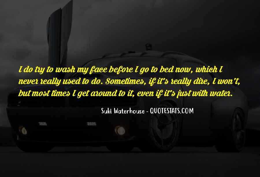 Suki Waterhouse Quotes #544940