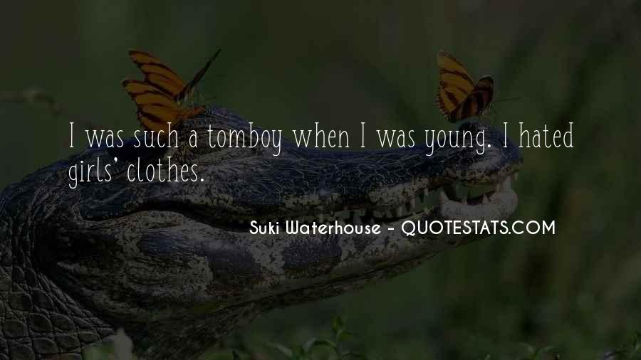 Suki Waterhouse Quotes #621267