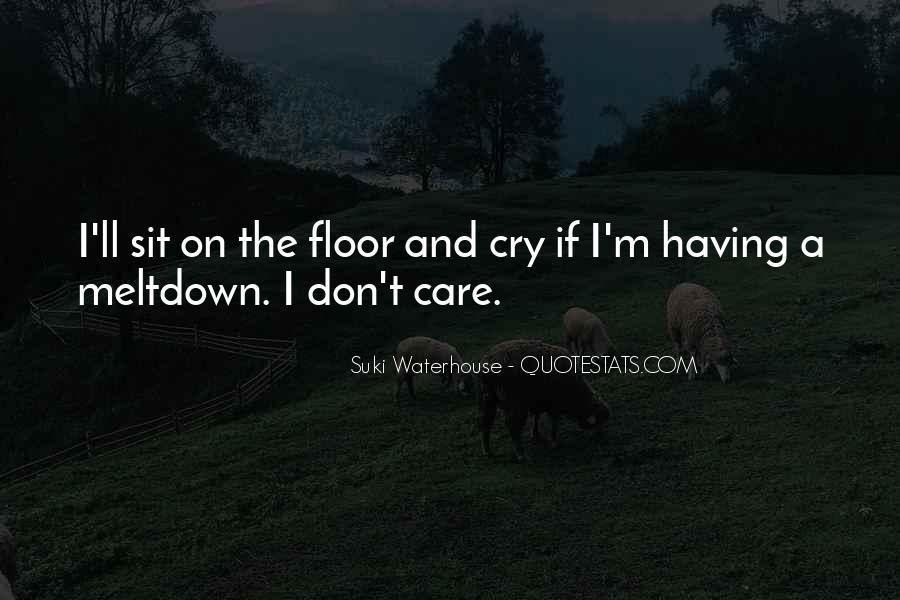Suki Waterhouse Quotes #77777